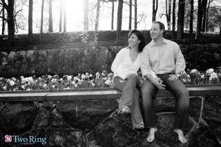 Engagement photography at Biltmore