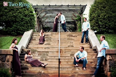 Asheville Wedding photographer - Two Ring Studios