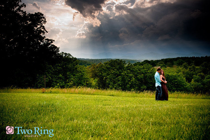 E-session at the Biltmore by Two Ring Studios
