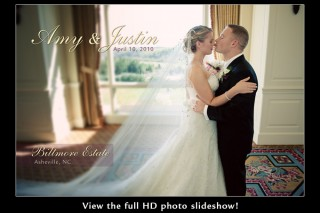 Wedding day slideshow - Biltmore Estate