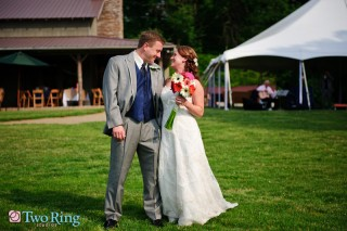 Wedding photography at the Farm
