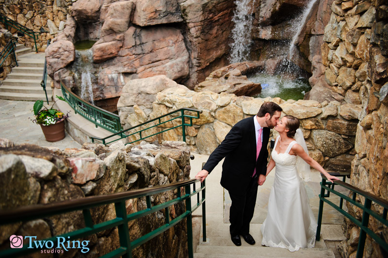 Wedding day photos at Grove Park Inn