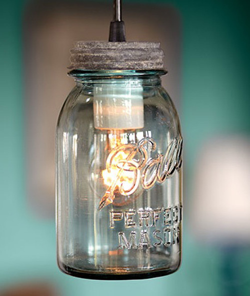 Antique Mason Jar Lights