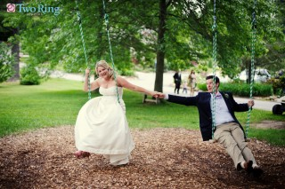 Wedding portrait at Highland Lake Inn