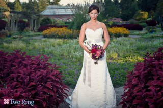 Bridal photography at Biltmore Estate
