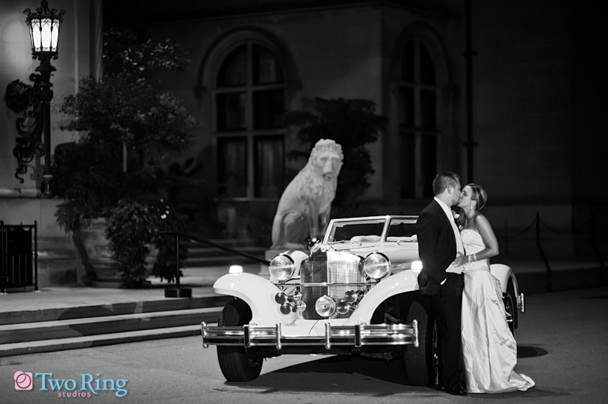 Classy wedding portrait Two Ring Studios is a preferred vendor of the