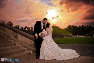 Wedding portrait at Biltmore