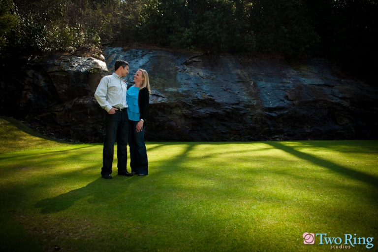 Engagement shoot in Highlands, NC