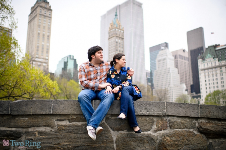 NY engagement shoot
