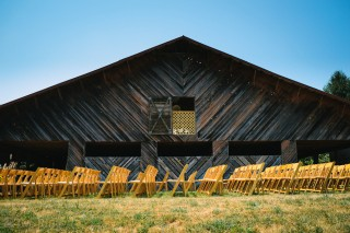 Barn, ceremony site